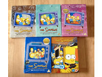 Simpson DVDs season 1/2/3/4/10