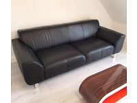 DFS Aspect 3 Seater High Quality Leather Sofa