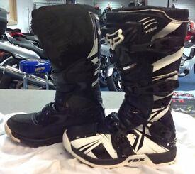 Fox comp5 motocross boots