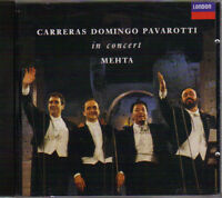 Carreras, Domingo, Pavarotti in Concert - Zuben Mehta Conducting