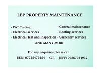 General maintenance services!! FREE QUOTES!! LBP property maintenance (handyman, general builder)