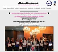 ★LEARN HAIR EXTENSIONS★ ACCREDITED Extension Masterclass Course