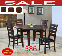 586, dining, dining room sets, extendable tables, chairs, hatche