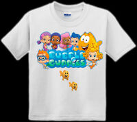 CUSTOM BUBBLE GUPPY TODDLER T-SHIRTS (2T, 3T, 4T, 5)
