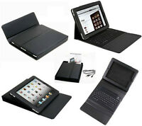 Leather case with Bluetooth Keyboard for iPad, iPad2 / 3 / 4