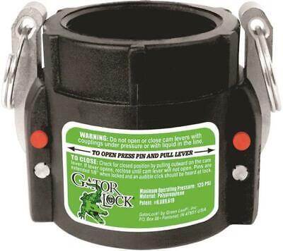 Green Leaf GLP 200 D Female Cam Lever Locking Hose Coupling, Polypropylene, -