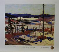 Tom Thompson - Early Spring Canoe Lake LTD Print