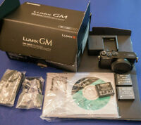 Mint condition Panasonic GM-1 camera body, black