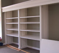 Retail Shelves, Cothing Store and Bathroom Fixtures, Doors....