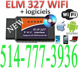 ELM327 OBD2 WIFI Auto Car Scanner IPHONE IPAD Check Engine 2.1