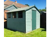 Large garden shed 10ft X 8ft