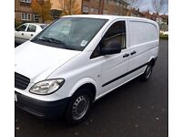 2008 Mercedes Vito 109 Cdi 2.2 Diesel,3 Seater,Compact TAX and MOT (as Transit transporter Vivaro
