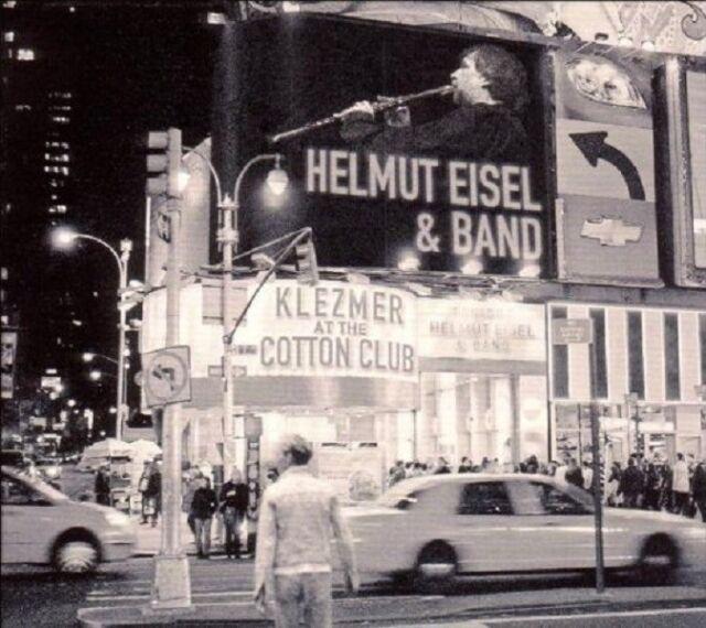 HELMUT & BAND EISEL - KLEZMER AT THE COTTON CLUB  CD NEU