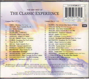 The Very Best of the Classical Experience (2 CDs) West Island Greater Montréal image 2