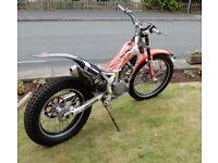 Beta Rev 4t trials bike 2008