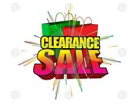 **PRICED TO CLEAR - EVERYTHING MUST GO - ITEMS FROM £5**