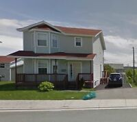 House for rent close to Avalon Mall, Marine Institute, MUN..