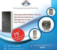 Furnace Repair /Tune-up -Professional Service