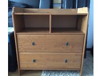 Changing table unit / drawers