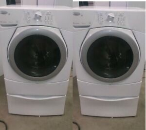 Washer Front Load on Pedistal HE Models - DURHAM APPLIANCES LTD