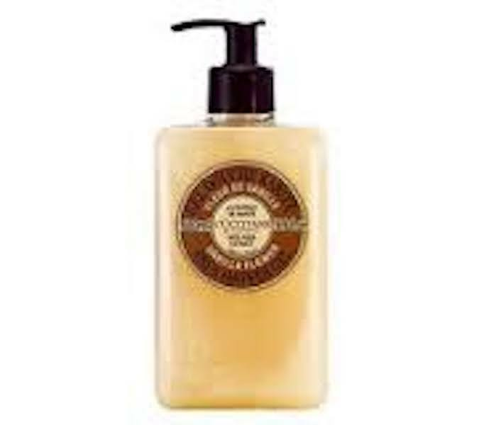 NEW L'Occitane Vanilla Flower Shea Shower Gel 16.9 oz/500 ml Bottle Pump