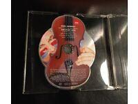 Unusual Rare CD (Violin Shaped) Nigel Kennedy