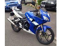 Superbyke RSP 125 motorbike
