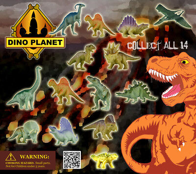250 Pcs Vending Machine 0.500.751.00 Capsule Toys - Dino Planet