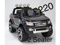 Ford Ranger 12v Black Or Blue Available Parental Remote Control Self Drive