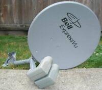 Used Bell Dish satellite tv HD BEV