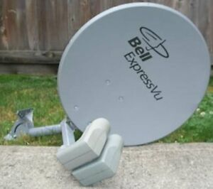 Used Bell Dish satellite tv HD BEV