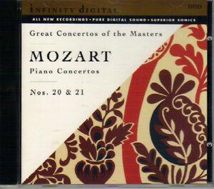 Wolfgang Amadeus Mozart - Piano Concertos No. 20 & 21