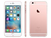 iPhone 6s Plus sim free 64 gig in rose gold all boxed