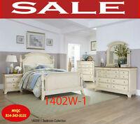 1402W bedroom, children bunk beds, queen beds, night stand, mvqc