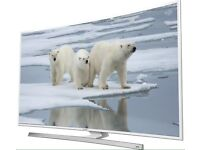 """40"""" White Samsung Smart Curved 4K Ultra LED TV with Freeview HD UE40JU6510 warranty and delivered"""