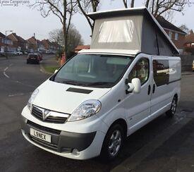 Vauxhall vivaro camper van motorhome not t5