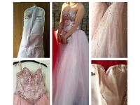 REDUCED Mori Lee Prom Dress size 6 will fit 8/10 cost £350