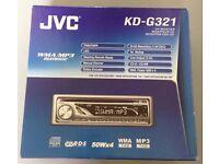 JVC KD-G321 CAR STEREO CD MP3 PLAYER