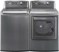LG machine a laver et secheuse / washer and dryer