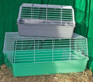 Indoor rabbit guinea pig hutches and travel pack rabbit castle Airport West Moonee Valley Preview