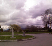 Forest Lawn Cemetery -single / SxS Burial Plots & Cremation land