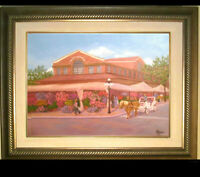 ORIGINAL OIL PAINTING OF THE BYWARD MARKET
