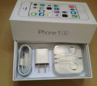 iphone 5/5s AND 5C boxes 16 GB,32GB, 64GB with ALL Accessories