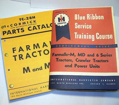 Farmall M Mv Tractor Service Parts Manuals Shop Repair International Mccormick