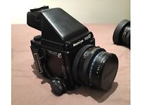 Mamiya RZ67 pro ii complete outfit with 3 lens