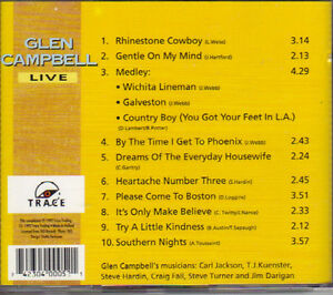 Glen Campbell - The World of Glen Campbell (Live) West Island Greater Montréal image 2