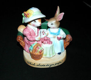 Vintage Easter Avon Figurine - Which Shade do You Prefer