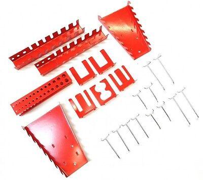 Hakensortiment Lochwandhaken Werkzeughalter Bohrerhalter Zangenhalter 22 Teile