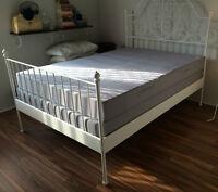 Furniture (Leirvik bed, bed stand, dining table, coffee table, s