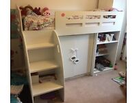 Gorgeous mid sleeper bed with tons of storage
